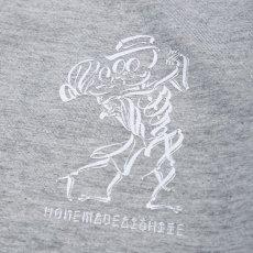 画像3: USUGROW / HONEMADEAISHITE LONG SLEEVE GREY TEE (3)