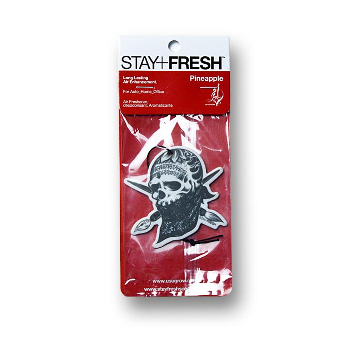 画像1: STAY FRESH x USUGROW / REBEL INK Air Fresheners (1)