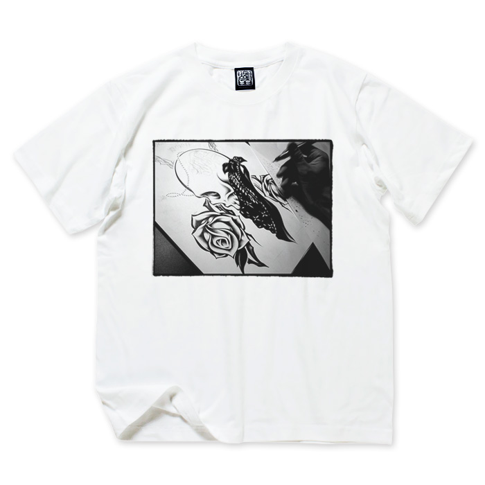 画像1: USUGROW / PROCESS WHITE TEE (1)